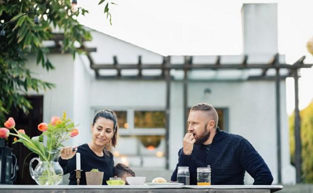 diner maison couple