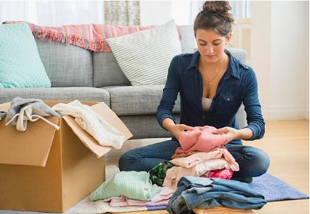 trier affaires pour déménagement